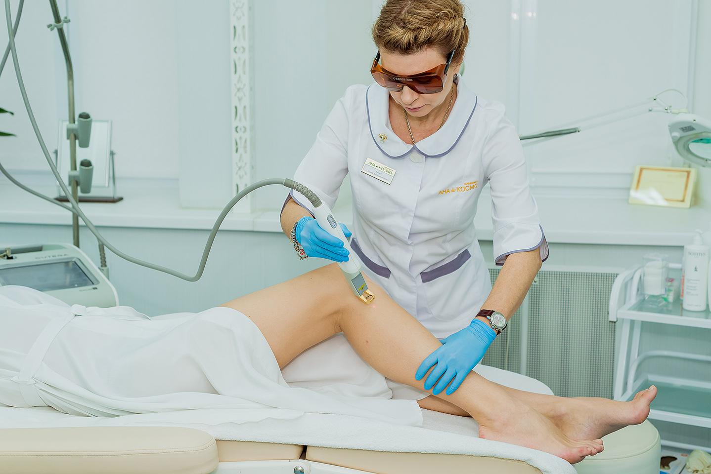 Процедура лазерной и фото-эпиляции в клинике АНА-КОСМОАппарат CUTERA - самый безопасный и результативный аппарат удаления волос на лице и теле