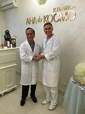 В клинике АНА-КОСМО оперировал Оскар Рамирез – ведущий пластический хирург мира!