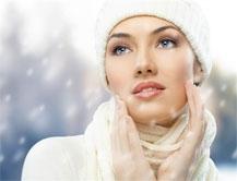 Правила защиты кожи от мороза