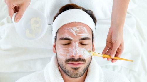 Домашний уход за кожей лица для мужчин, маски для кожи