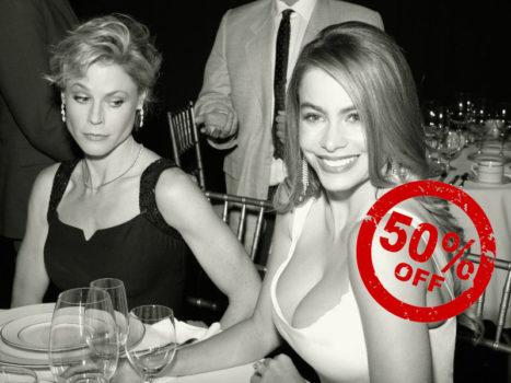 -50% на увеличение груди!